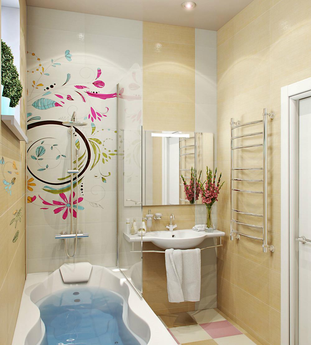 Ванная комната райский сад Смеситель Treemme Piccadilly 2156.CC.PL для душа