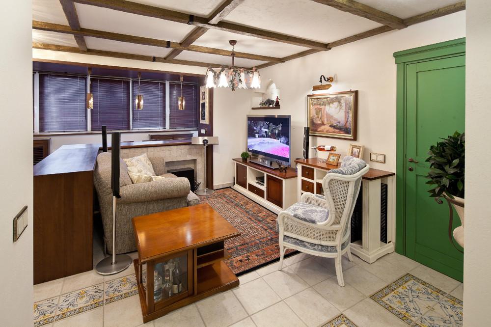 Квартблог - комната из лоджии.