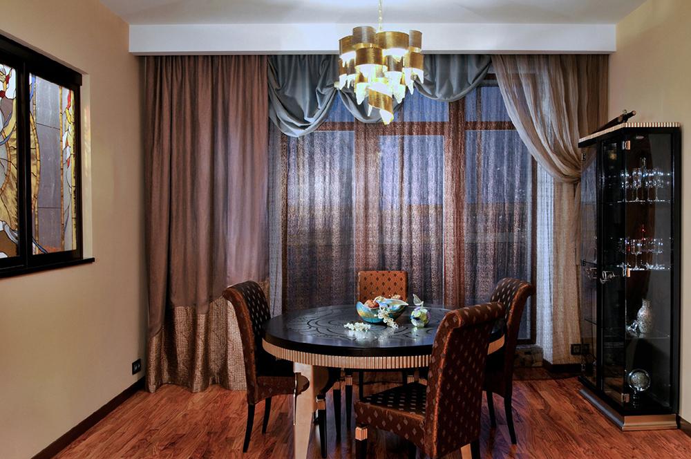 Фото штор в современном стиле модные шторы в кухню 24