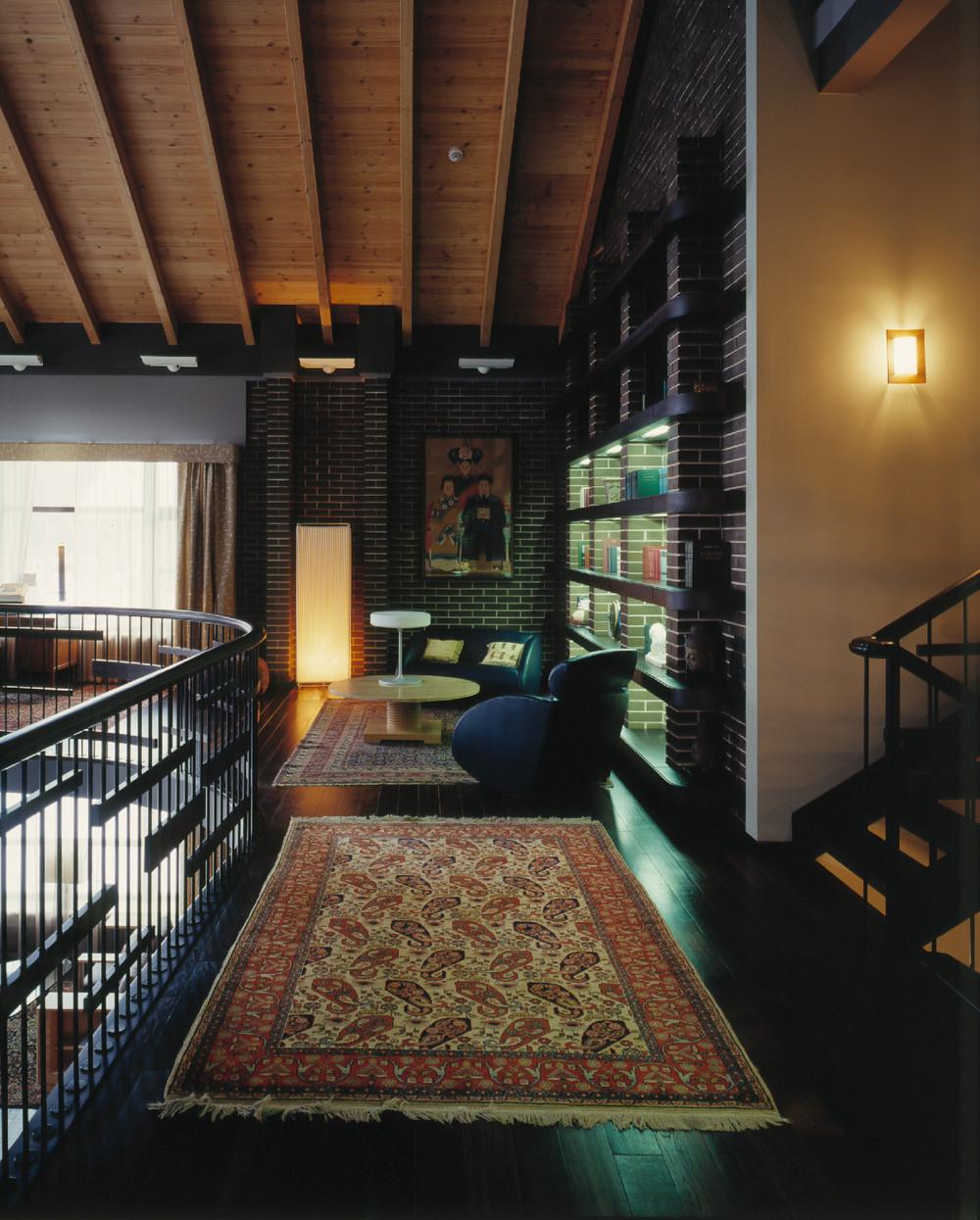 Интерьер жилого дома Галерея 3dddru: Интерьер загородного жилого дома, автор Арсений/Leonovich