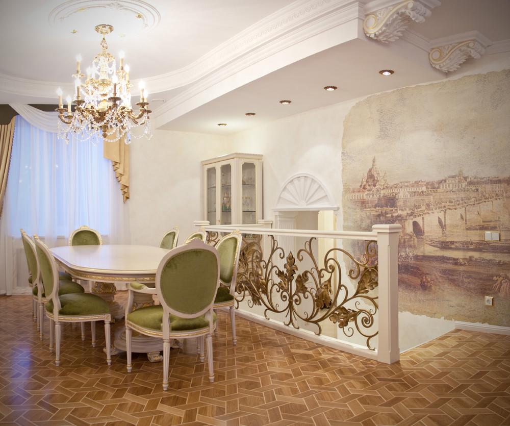 Дизайн классика квартиры