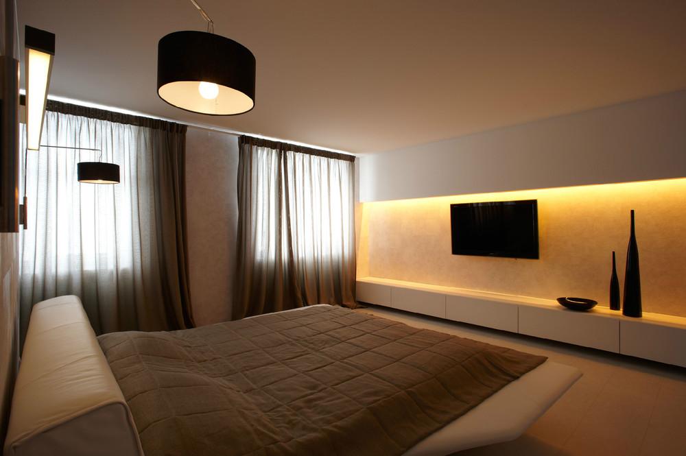 Спальня в стиле минимализм фото