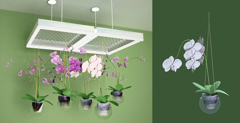 Светильник для комнатных цветов своими руками6