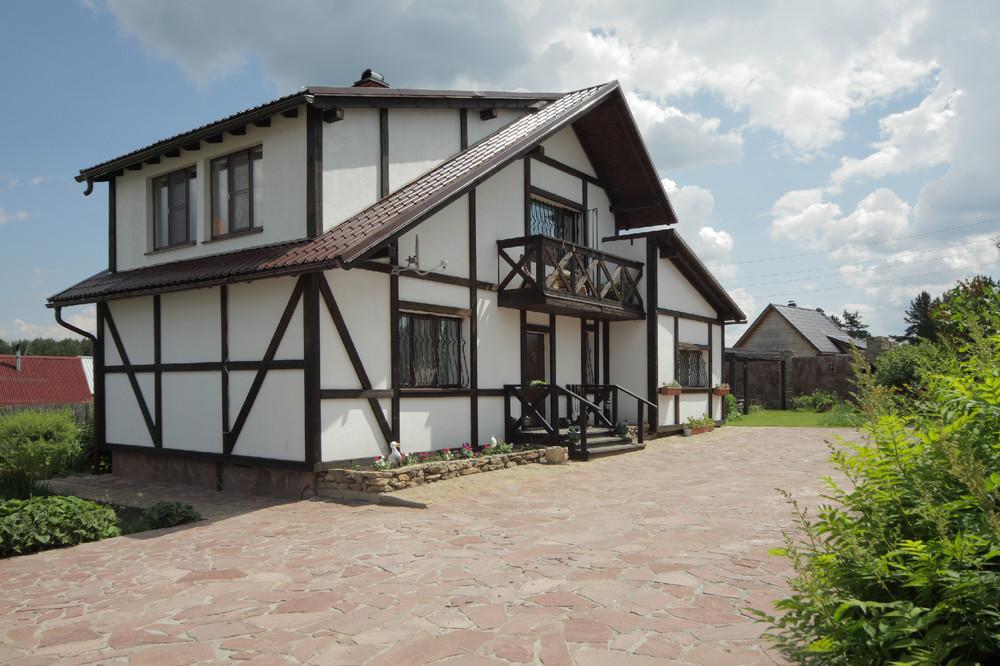 Скандинавские деревянные дома фото