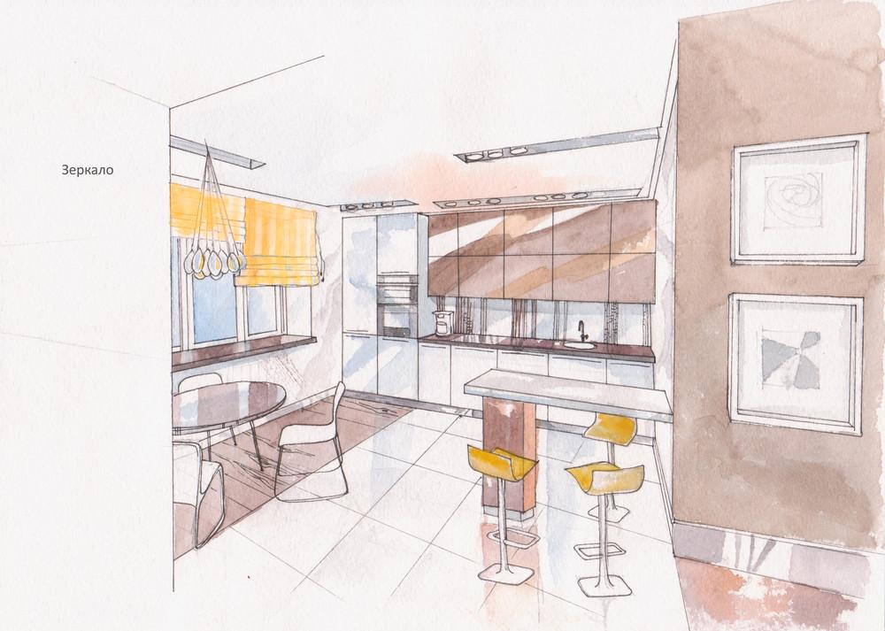 """интерьер гостиной рисунок карандашом онлайн """" Новый оригинальный дизайн"""