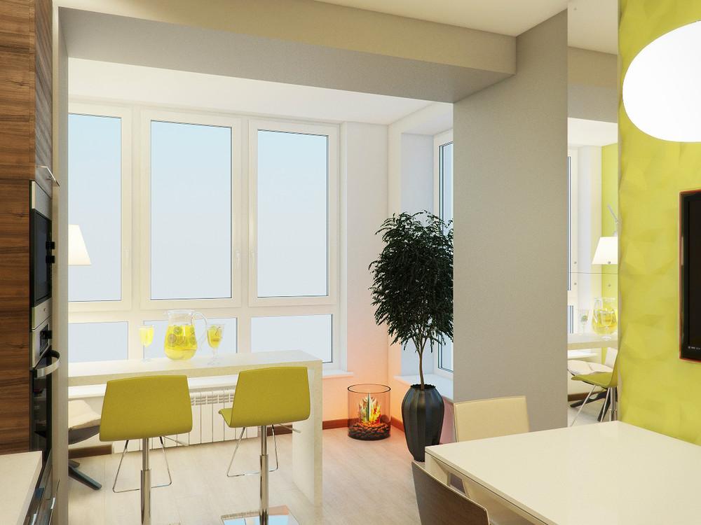 Трехкомнатная квартира на ул. 8 марта (дизайн-студия студия .