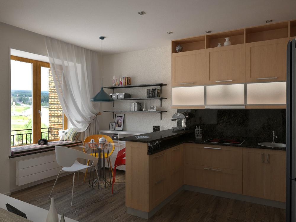 Дизайн квартиры 50 кв