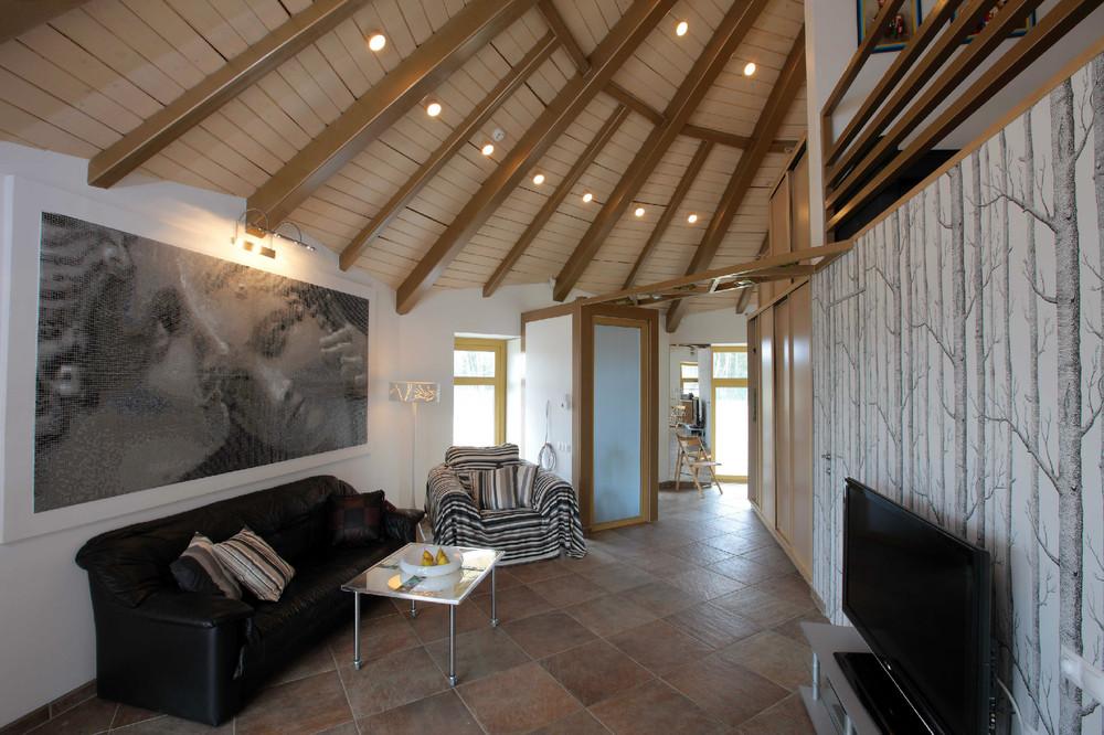 Круглые дома интерьер