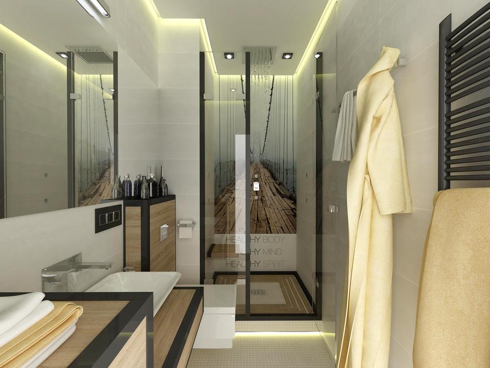 Дизайн ванной комнаты 4 кв.м.: всё поместим!.