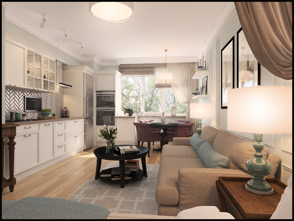 Дизайн квартир 50 кв м