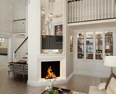 Межкомнатные двери в классическом стиле - фото в интерьере