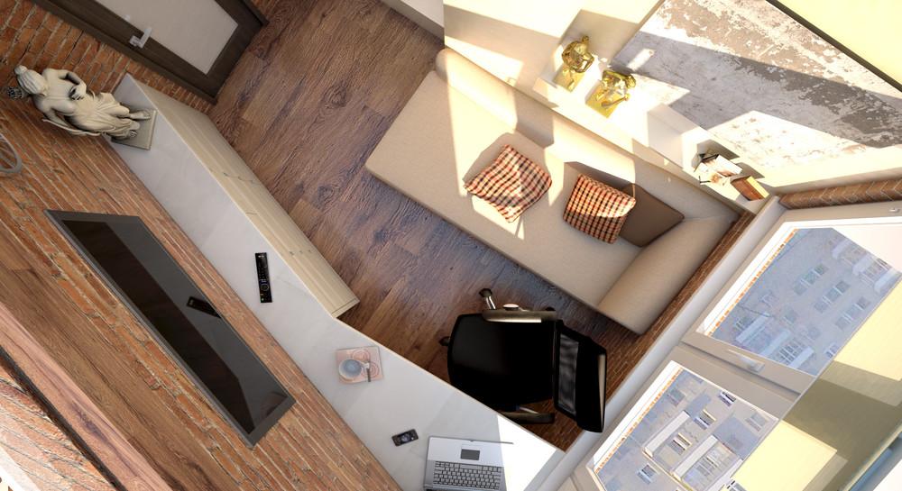 Что такое балкон 6 кв метров. - дизайн маленьких лоджий - ка.