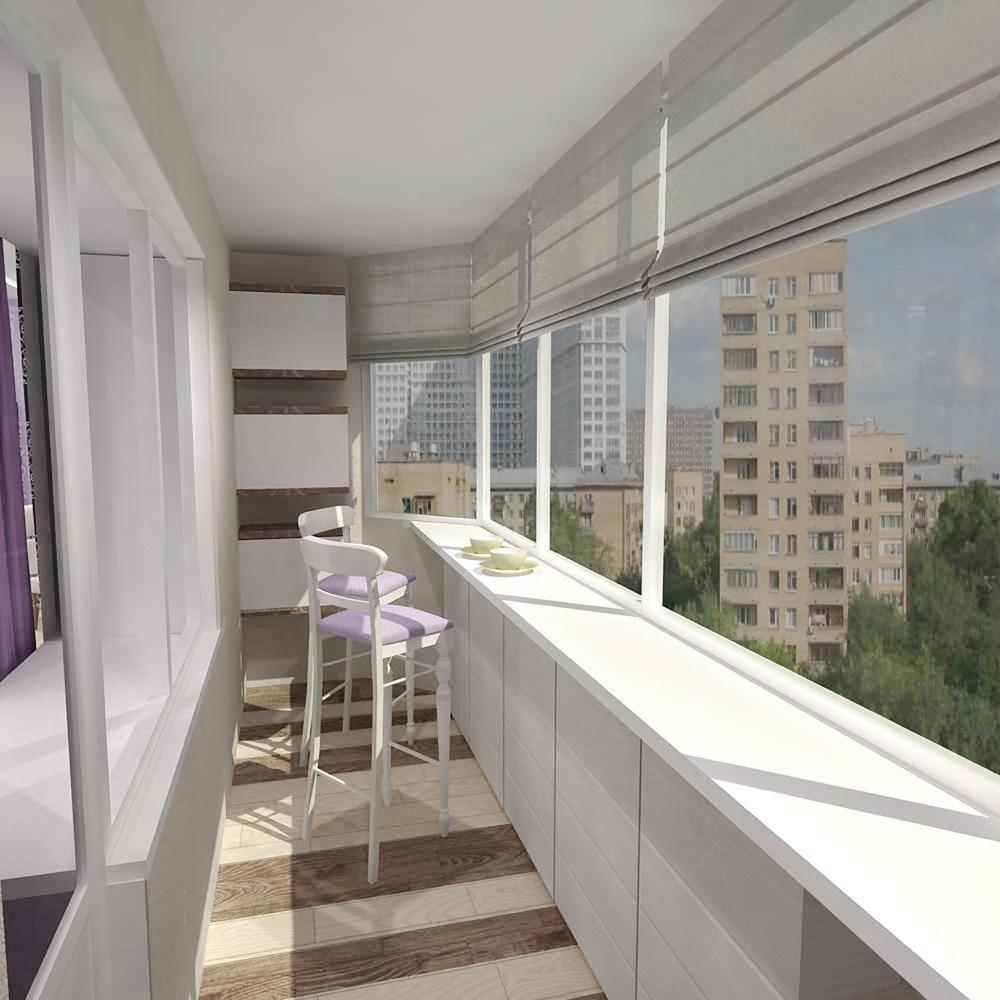 Фото дизайна интерьера маленького балкона.
