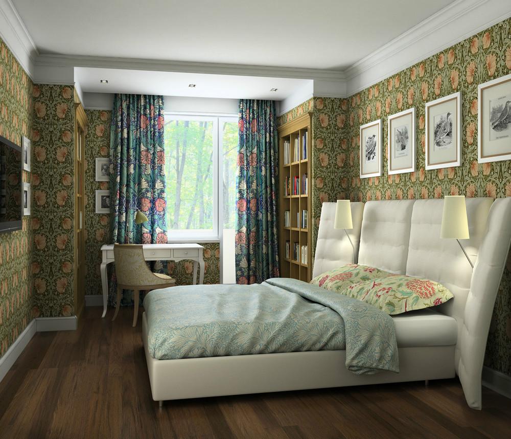 5 дизайн-проектов квартир в доме серии п-44т.