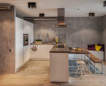 Beton in der kuche