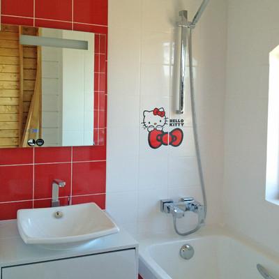 Ванная в деревянном доме фото 3