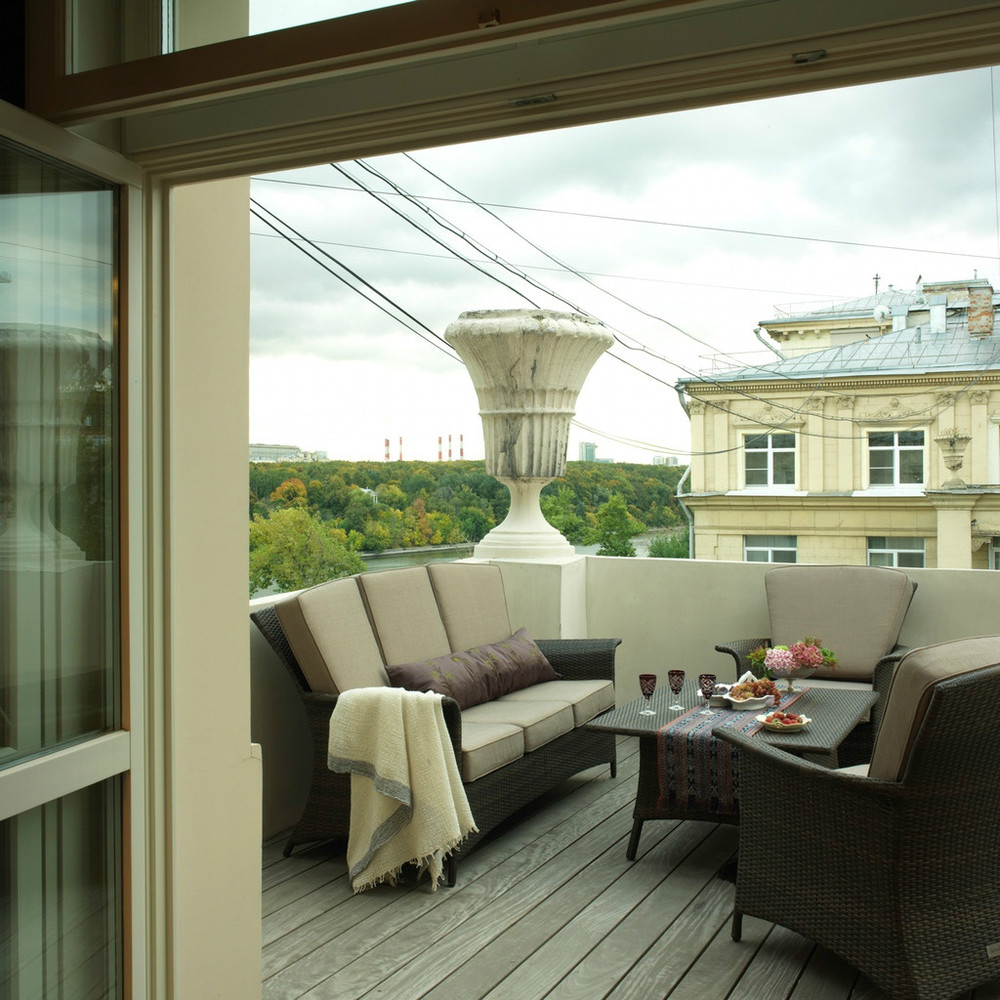 Большие балконы дизайн..