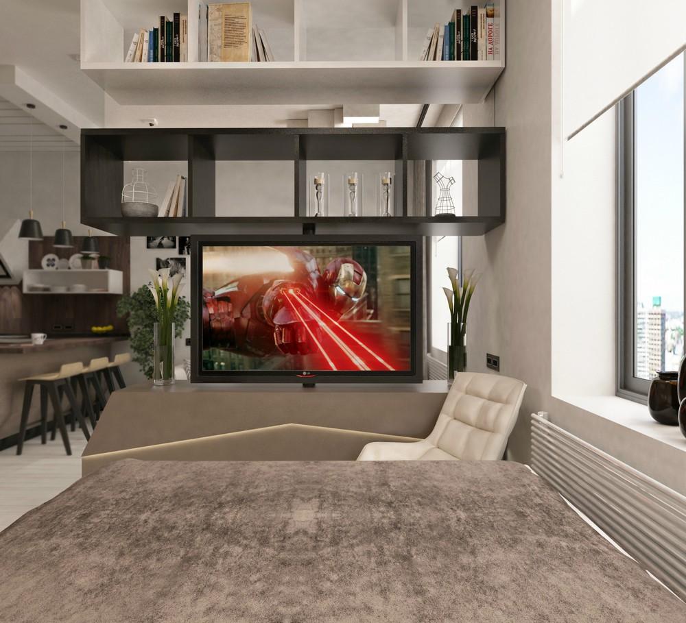 Интерьер квартиры 38 м кв