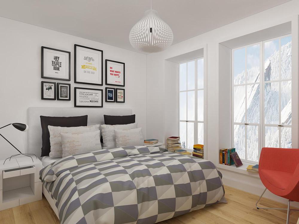 интерьер маленькой спальни фото дизайна маленьких скромных спален