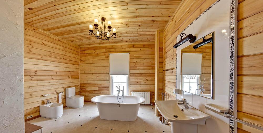 Ванная в своем доме своими руками
