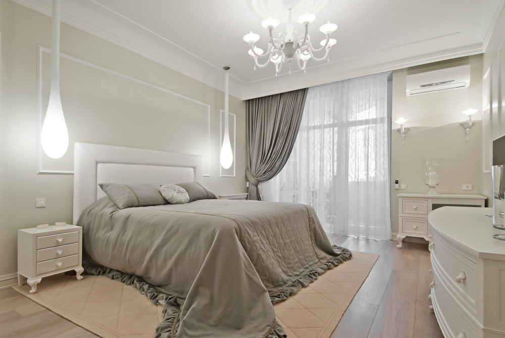 Светлые спальни дизайн фото