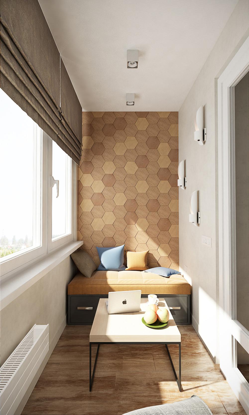 Дизайн балконов и лоджий.