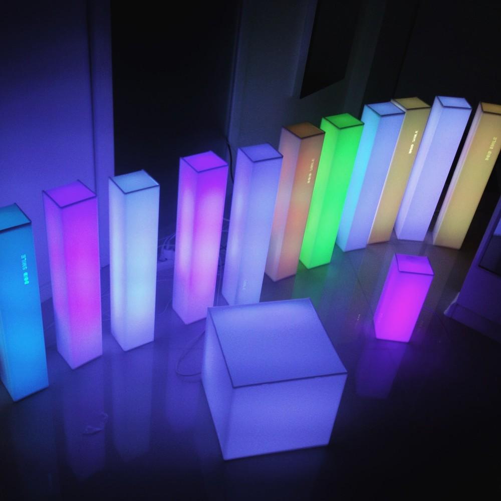Цветные светильники