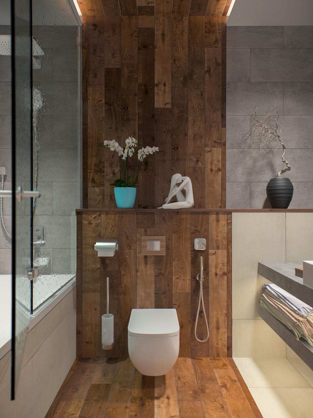 Wood Amp Concrete автор Юлиана Ефремова конкурс Quot ванная