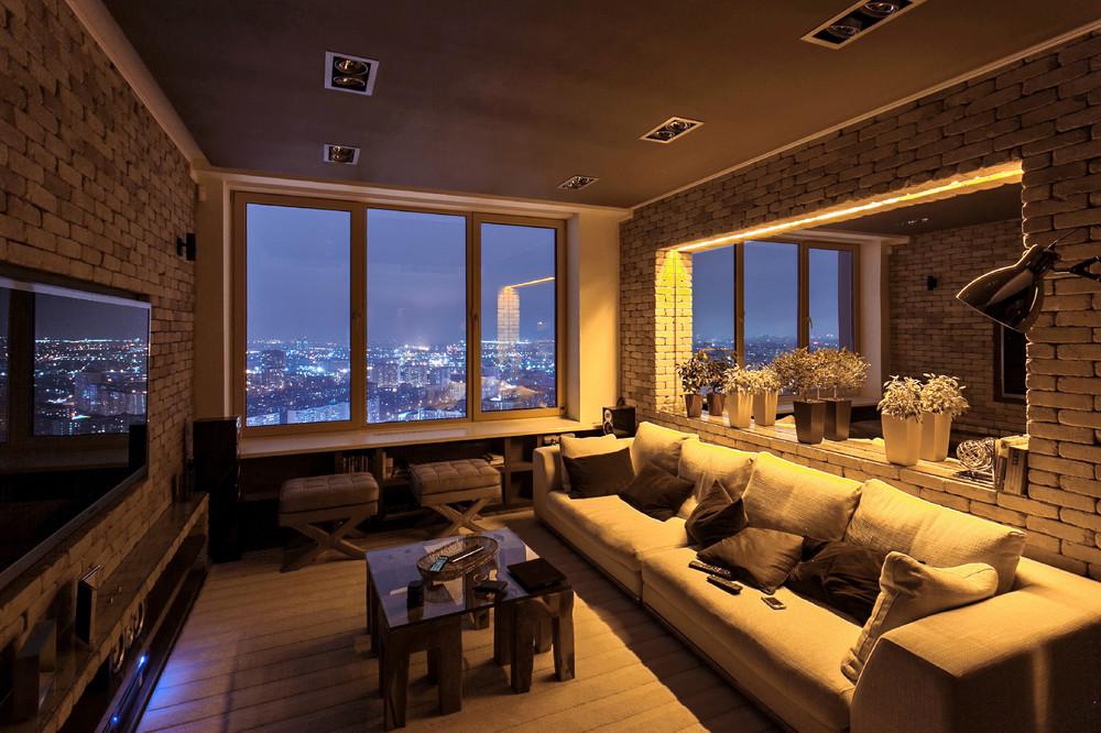 Дизайн квартир студии в стили лофт
