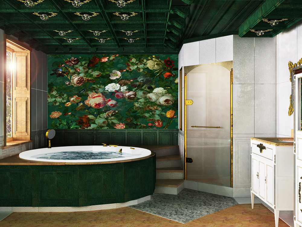 изумрудная ванная комната автор любовь шиляева конкурс дерево в